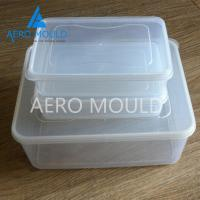 China Transparent plastic disposable food container injection mold on sale