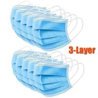 Buy cheap Nonwoven 3 ply disposable mask dust proof disposable mask from wholesalers