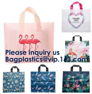 Best PE PP PVC SHOPPING BAGS, HANDLE BAGS, HANDY CARRIER BAGS, SHOPPER, SOFT LOOP FLEXI LOOP, DIE CUT wholesale