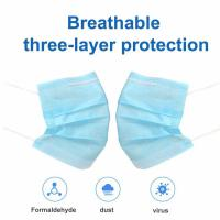 Best BLUE color and disposable 3ply face mask 3 ply medical mask wholesale
