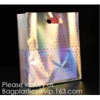 Best HOLOGRAPHIC NEON TOTE PVC BAG,VINYL SHOPPING SHOPPER,TOILETRY BIKINI SWIMWEAR BEACHWEAR WOMAN BAG wholesale