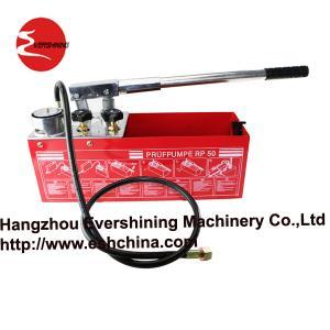 portable pressure test pump