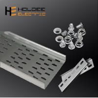 China Jiangsu high quality galvanized steel perforated cable tray HDG slotted cable tray manufacturer on sale