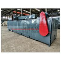 China New design mesh belt dryer/charcoal coal briquettes drying machine/air mesh belt dryer for sale on sale