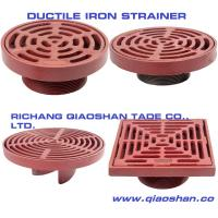 China Round and Square Ductile Iron Roof Drain and Floor Drain Strainer on sale