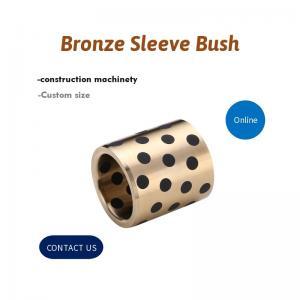 Best C86300 SAE430B Bronze Sleeve Bushing Plug Graphite wholesale