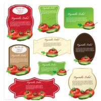 China Colored Packaging Custom Product Labels Stickers For Brand Name on sale