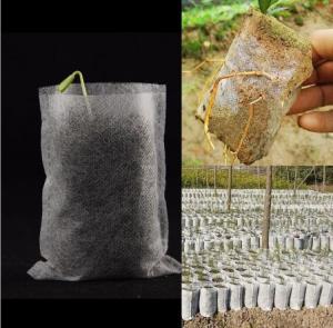 Best Horticulture Biodegradable Garden Bags Hydroponics Soil Planter Nursery Pots wholesale