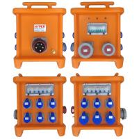Best MK2 Portable Power Distribution 380V 125A Thermoplastic IP66 Custom Power Distribution With Circuit Breakers' Protection wholesale