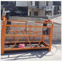 China Safe ZLP series window cleaning painting steel ZLP800 rope suspended platform India on sale
