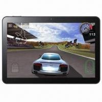 Best 1,024 x 600p 10-inch Tablet PC, Allwinner A10 Processor, Android 4.0, 512M/4GB, Wi-Fi, 3G and Camera wholesale