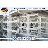 China Durable Double Sided Cantilever Steel Rack Plastic Powder Coating For Warehouse on sale