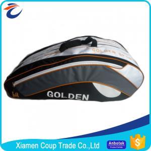Best Outdoor Men Custom Tennis Racket Bag / Sports Gym Bag 70x60x20 Cm Size wholesale