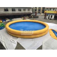China Round Baby Kids Safety Portable Water Pool With Logo Printing on sale