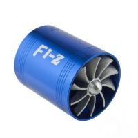 Best F1-Z Double Twin Supercharger Turbine Turbo charger Air Intake Universal Fit Turbocharger wholesale