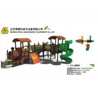 Best LLDPE.Rubber coat Steel Wooden Train Playground Entertainment Equipment wholesale
