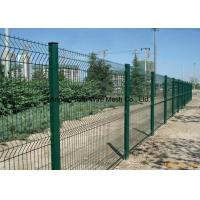 PVC Coated Galvanized Wire Mesh Fence Secutiry Fence China Anping Factory