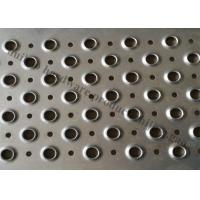 China 120  Length Metal Safety Anti Skid Stair Treads For Staircase , Stair Steps on sale