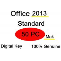 China Multilingual Microsoft Office 2013 Key Code , 50 PC Ms Office 2013 Activation Key on sale