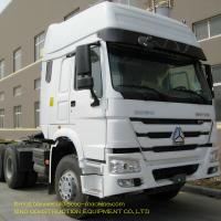 China 6X4 Heavy Duty Tractor Trailer 371 Hp Euro 2 Tires Manual Transmission Type on sale