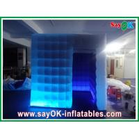 Best One Door Inflatable Photobooth 210D Oxford Cloth With Led Lights Versatile wholesale