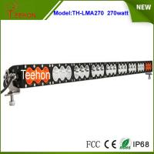 Best Wholesale price offroad 12v 24v 270w amber/white color led light bar for led warning light wholesale