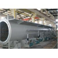 Best 60 - 100kw 25 - 30m PVC Pipe Production Line , PVC Pipe Extruder Machine wholesale