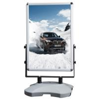 Best Outdoor Advertising Snap Frame Stand With Water Base Aluminum Material wholesale