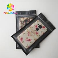 Best Ziplock Recycled Plastic Pouches Packaging , USB Custom Printed Stand Up Pouches wholesale