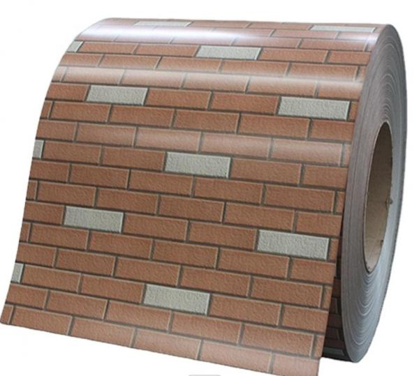 Cheap Brick Pattern Hot Dipped Galvanized Steel Coils Ppgi  240Mpa  700Mpa for sale