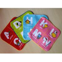 China Super water absorbency heat transfer printed hand towel on sale