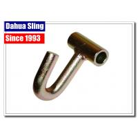 China Metal Pickup / Cargo Tie Down Hooks For J Hook Ratchet Straps 11mm Dia on sale