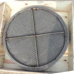 Best Stainless steel wire mesh mist eliminator / gas liquid wire mesh demister wholesale