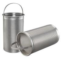 China Basket Washable Furnace Filters Stainless Steel Mesh Strainer on sale