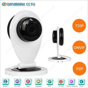China P2P plug and play 720p mini size wireless cctv camera on sale