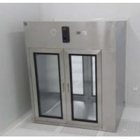 Best Pharmaceutical Industrial Stainless Steel Pass Box For Cleanroom Air Speed 0.45m/s wholesale