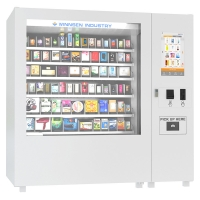 China Combo Food Vending Machine Customized Color For School / Train Station on sale