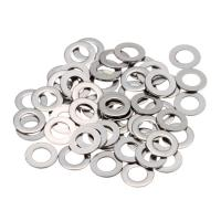 China SS 304 A2 DIN 125 Hardware Flat Washers Size M3-M72 Polish Color on sale