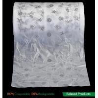 Best Film Biodegradable Compost Bags , Biodegradable Packaging Bags For Baby Breathable Back Sheet wholesale