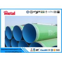 China ERW HFW  Coated Steel Pipe High Temperature Epoxy Coating API Certification on sale
