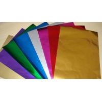 Best Embossing Colored Aluminum Foil For Chocolate Wrapping Non Toxic / Hygienic wholesale