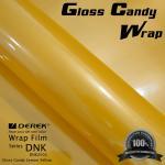 Best Gloss Candy Lemon Yellow Vinyl Wrap Film - Gloss Lemon Yellow wholesale