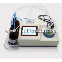 Buy cheap LCD Display Karl Fischer Volumetric Water Content Analysis Tester, Oil Trace from wholesalers
