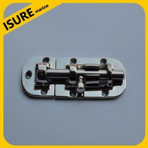 Best BARREL BOLT CHROME PLATED BRASS Gate Door Latch Draw lock Bathroom Toilet Shed wholesale