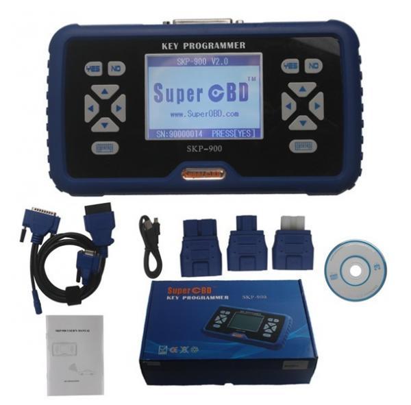 Cheap SuperOBD SKP-900 SKP900 V3.8 Hand-Held OBD2 Auto Key Programmer for sale