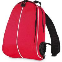 China Polyester Plain Canvas Women's Backpack Round Shape With Double Shoulder Strips on sale