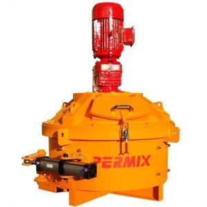 Best Orange Color PMC330 Cement Brick Making Machine Simple Structure Short Mixing Time wholesale