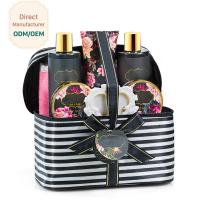 China Soft Relaxing Bath Gift Sets / Bath And Beauty Gift Sets Fresh Peony Scent on sale