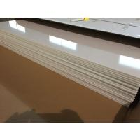 Best Ivory White PVC Ceiling Panels Glossy Oil Protecting Plastic Ceiling Tiles 603mm x 1210mm wholesale