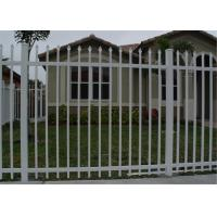 Best garrison fence panel 65mm tube wall thick 2.00mm with security bracket wholesale